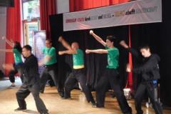 Kung-Fu-Vorführung der Jugendgruppe aus Stuttgart